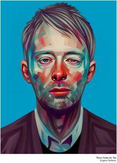 Evgeny Parfenov - Thom Yorke for Tss