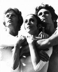 Hannes Kilian Drei Stars des Stuttgarter Balletts Marcia Haydée, Egon Madsen, Richard Cragun, 1970