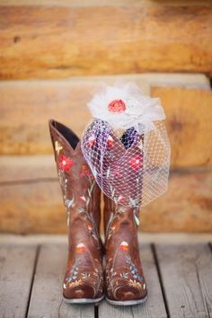 Flower embroidered cowboy boots // photo by Megan Robinson