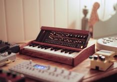 Built this custom Roland Boutique JP-08 during christmas :): synthesizers