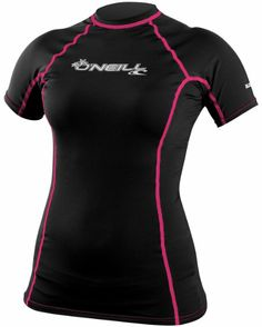 Amazon.com: O'Neill Wetsuits Women's Basic Skins Short Sleeve Crew: Sports & Outdoors