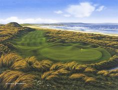 Enniscrone GC on the Irish west coast is a treat. Many good holes, wonderful atmosphere.
