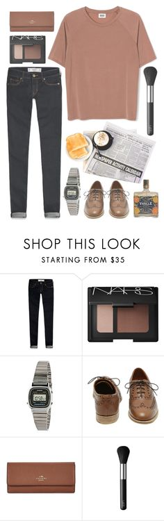 """Untitled #156"" by tamara-xox ❤ liked on Polyvore featuring Abercrombie & Fitch, NARS Cosmetics, American Apparel, Mulberry, Coach, women's clothing, women, female, woman and misses"