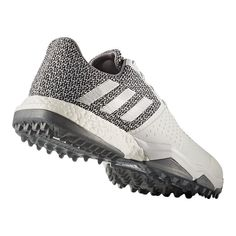 differently 66b99 69808 adidas Golf Men s Adipower Sport Boost 3 Golf Shoes - White Silver
