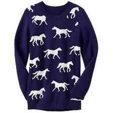 Girls Animal-Graphic Sweaters