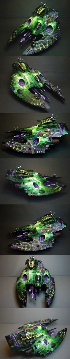 I am constantly amazed by what people can do with their Eldar Wave Serpents.