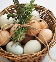 rustic easter decor