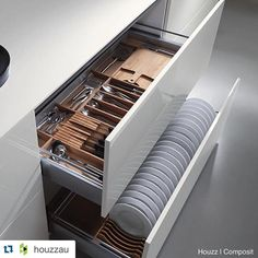 #Repost @houzzau ・・・ It's ok to dream about well organised drawers.