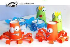 5 Manualidades fáciles con vasos de plastico