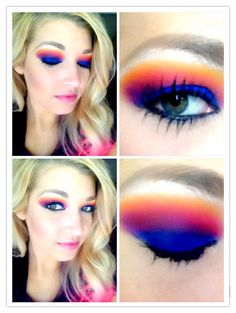 I love this look from @Sephora's #TheBeautyBoard http://gallery.sephora.com/photo/5371 using Urban Decay's Electric Pallet