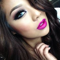 Radiant Orchid lip color