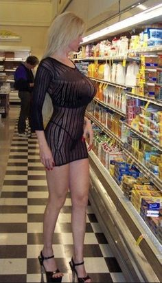 Two Gallons of Boobs Shopping For...Who Cares?