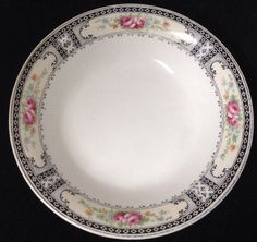 "1914-1925 W. H. Grindley China Lot ""The Harvard"" Berry Bowl #WHGrindley"