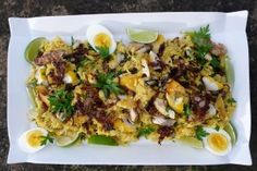 Admiral's Kedgeree - Easter recipes