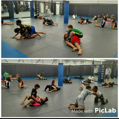 Kids class 8 to 12 year olds working hard in No Gi BJJ tonight. Some future killers in this class. #ultimatemmact #bjjinct #kidsbjj #karatect #mmact ultimatemmact.com