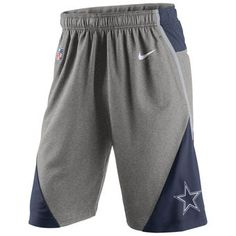 Nike Dallas Cowboys Charcoal Fly XL 4.0 Performance Shorts Nfl Seahawks a088930d2