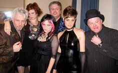 Backstage at Massey Hall before our New Years Eve gig...2011...complete with ersatz attitude!