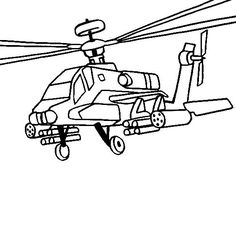 Free Helicopter And Military Chopper Coloring Pages Color In This Picture Of A Boeing Apache Longbow Attack Others With Our Library