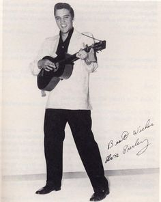 April 06, 1956 Paramount Pictures signed Elvis Presley to a three-movie contract