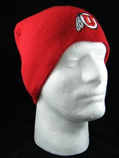 Utah Utes NCAA Beanie Hat Knit Cap Top of The World UEC | eBay