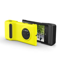 Brings together the ergonomics of a SLR with a revolutionary smartphone camera.