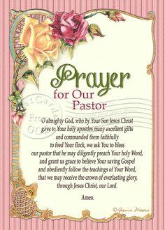 Prayer For Our Pastor / Prayer / Art - Inch Digital Collage Image / Ready to… Pastor Appreciation Day, Prayer For Church, Bethel Church, Image Ready, Prayer Verses, Power Of Prayer, Christian Art, Dear God, Digital Collage