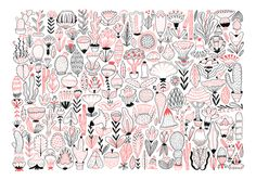 Playful and Inventive Drawings and Illustrations by Kristyna Baczynski