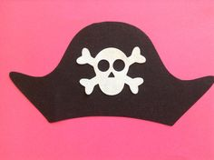 Pirate Hat - - - Applique Template Pattern ONLY - - - make your own applique