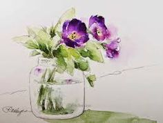 "Résultat de recherche d'images pour ""watercolor painting ideas for beginners"""