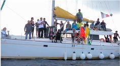 Coupe EFE 2013 - le voilier padishah de My Sail comme bateau de jury !! mais aussi pour vos croisières voiliers avec ou sans skipper et balades en mer : www.my-sail.net