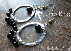 Learn How to Use Jump Rings   Jump rings are used in SO many different jewelry projects. Their basic use is to connect twocomponentstoget...