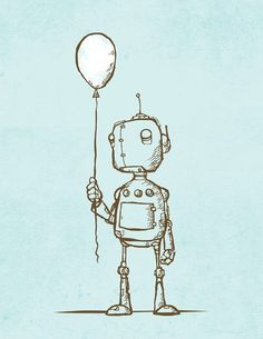 Psyched Robot