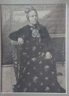 Great Grandmother in Halling costume.