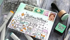LOTS OF DOGS! Monthly Mail Art Custom Envelope – Simon Says Stamp – kwernerdesign blog