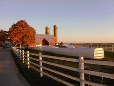 Elam & Naomi Miller farm - White Oak Road, Nickel Mines, PA - Southern Lancaster County - November, 2011