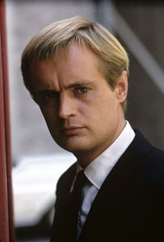 A very young David McCallum from his days on the series Man for U.N.C.L.E.  Now Ducky on NCIS