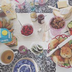 födelsedags frukost  #Padgram