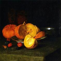 Autumn Still Life - William Merritt Chase  Realism
