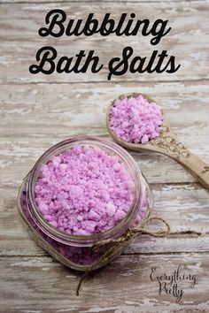 Bubbling Bath Salts Recipe