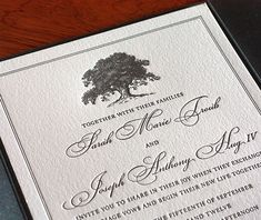 No matter where you are getting married, there is sure to be a tree that fits the style and tone of your big day.