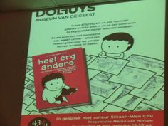 Shiuan-Wen Chu's Graphic Novels: Interview at the Dolhuys Museum in Haarlem NL, 15 ...