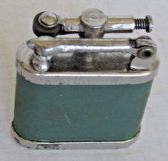 Vintage Lift Arm Lighter Worn But Works