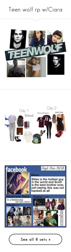 """Teen wolf rp w/Ciara"" by krystalnight0 ❤ liked on Polyvore featuring art, gameday, 24, Marc by Marc Jacobs, With Love From CA, MANGO, Supra, Tinsel, Beacon and Adina Reyter"