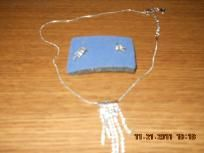 chandler necklace & earring set-Avon