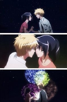 Kaichou Wa Maid-Sama || anime scene