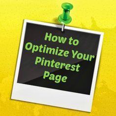 How to Optimize Your #Pinterest Page http://www.ezanga.com/news/2013/07/22/pinterest-optimization/ #SMM