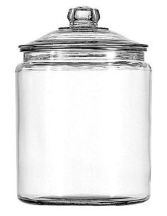 Which style jar for flour, sugar, etc? Anchor Hocking 2 Gallon Glass Jar with Lid (69372T)