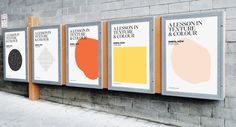 Bren Imboden & Luis Viale of Make Bardo (New Zealand)・Interview Posters for A Lesson in Texture & Colour, 2016