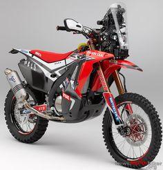 RE-PIN THIS!    Honda CRF450 Rally 2014