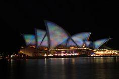 Vivid Sydney Opera House Spectacular Light Show
